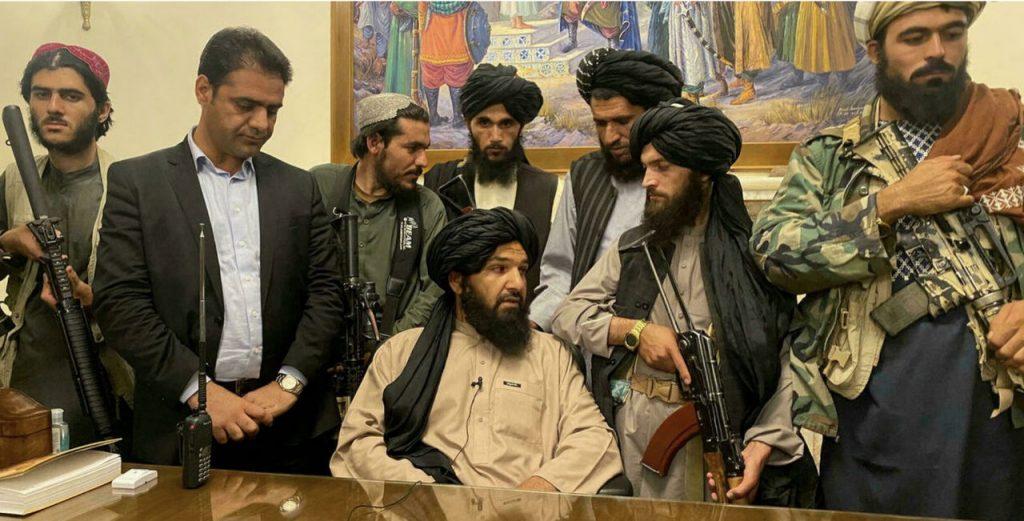 Victoire des Talibans